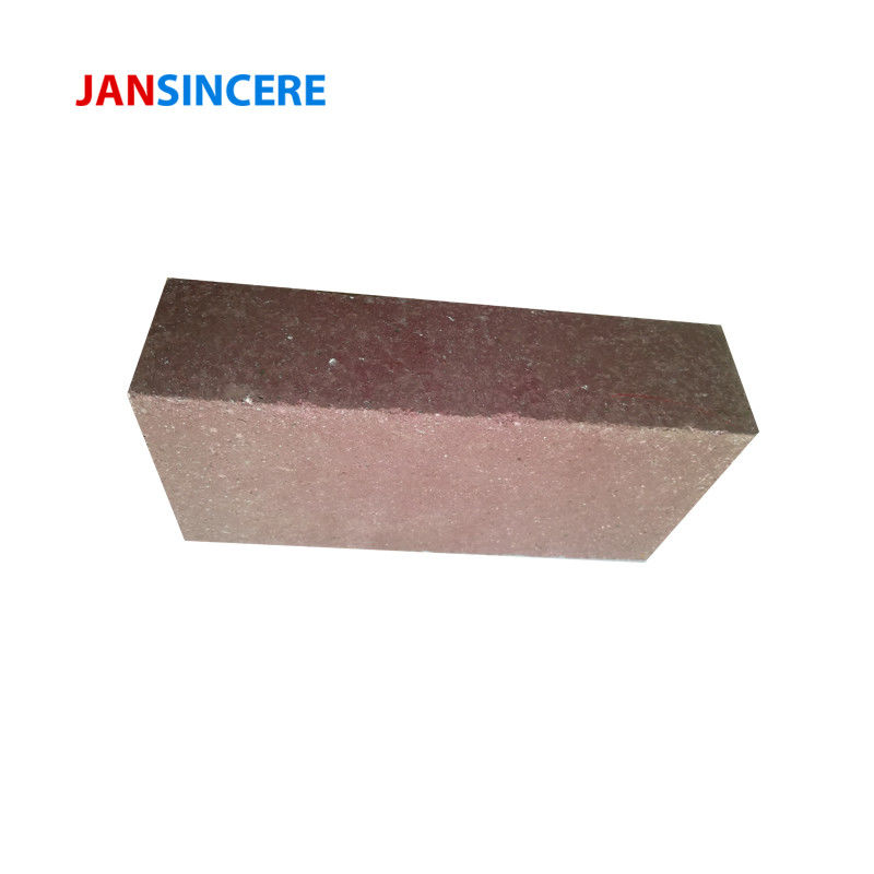 Custom High Heat Bricks , Chrome Magnesite Bricks Thermal Shock Resistance