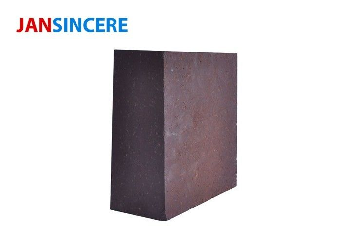 High Temperature Fire Bricks ,  Standard Size Magnesia Chrome Brick Wear Resistance