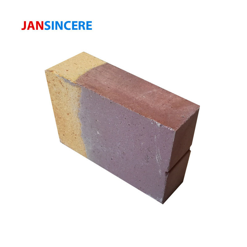 Corundum Mullite Zirconia Bricks High Temperature Resistance For Rotary Kilns