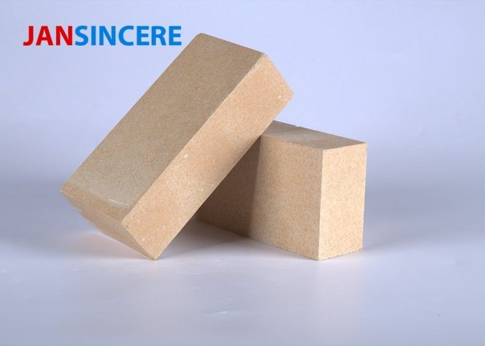 Heat Resistance Zirconia Bricks , Sintered Temperature Proof Refractory Brick