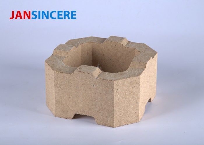 Fire Resistant Refractory Zirconia Bricks For Large Dry Process Cement Rotary Kiln