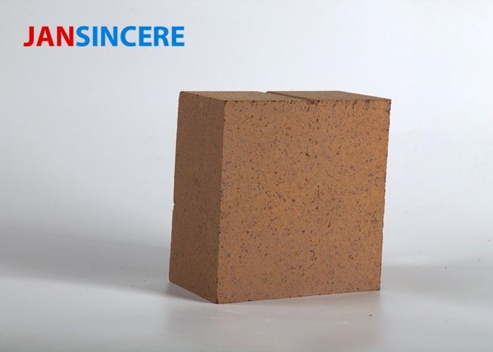 Sintered Magnesite Refractory Bricks , Furnace Bricks Thermal Shock Resistance
