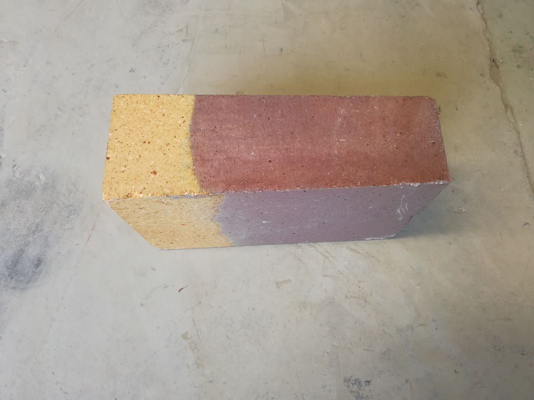 Cr- Zr Corundum Compounding Kiln Refractory Bricks Dense Refractoriness 1790°C