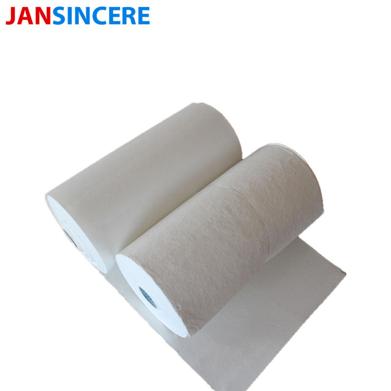 Refractory Cotton Thermal Lining Paper / Alumina Ceramic Fiber Paper Regular Size